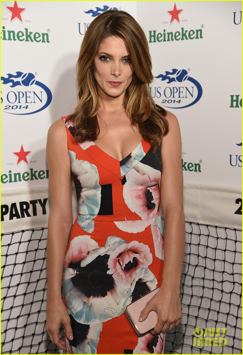 ashley greene nikki reed julianne hough us open party 143180791