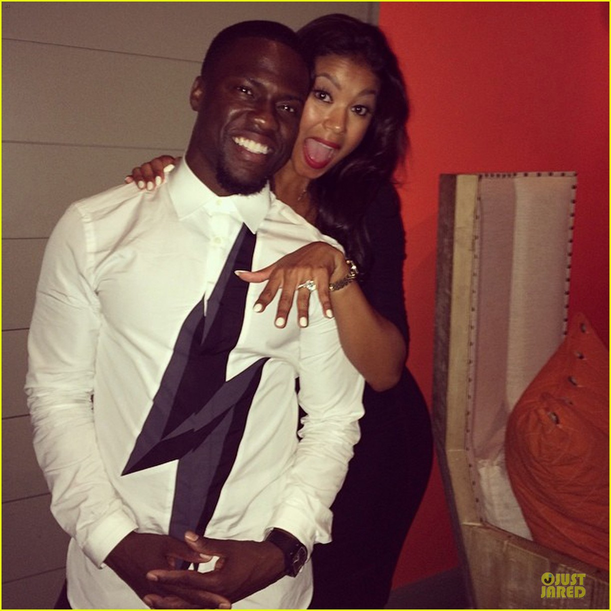 Kevin Hart & Girlfriend Eniko Parrish Are Engaged!: Photo