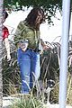 salma hayek gets ready to leave town with her super cute pup 06