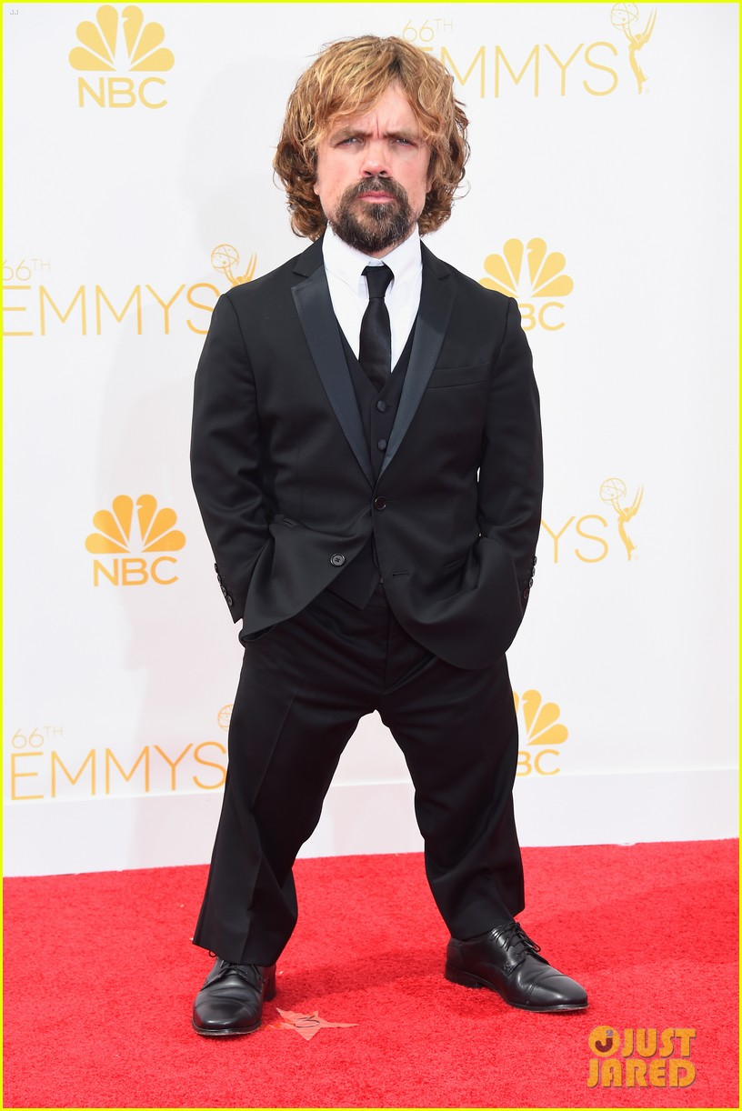 lena headey peter dinklage emmys red carpet 2014 053183336