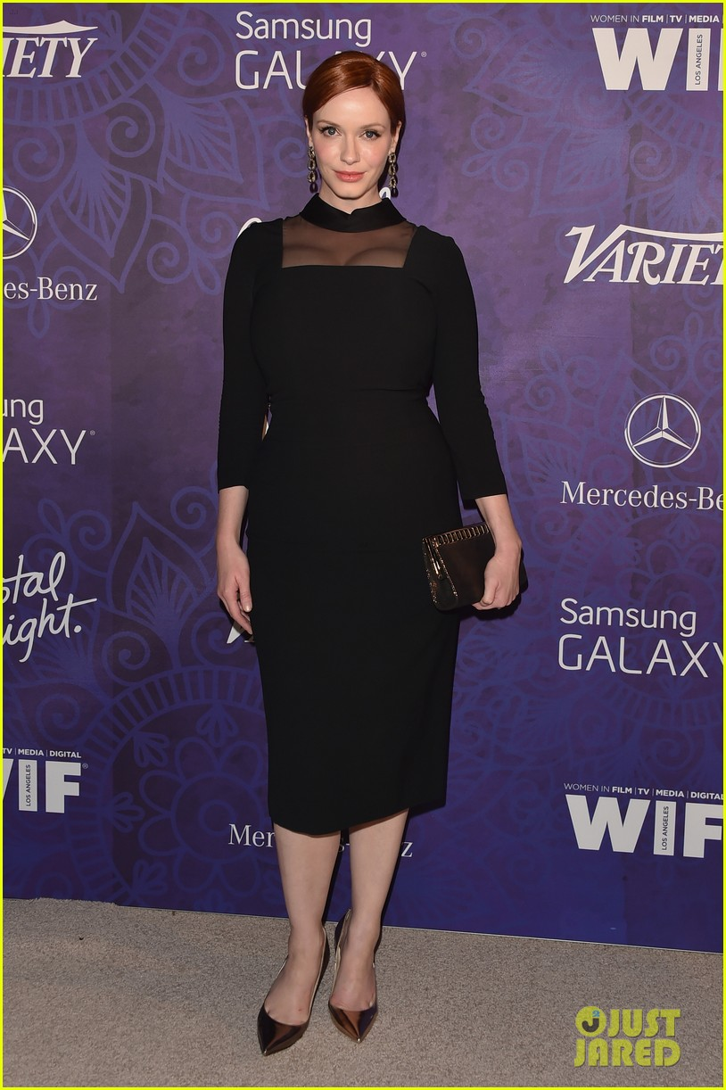 christina hendricks michelle monaghan variety emmys party 013181927