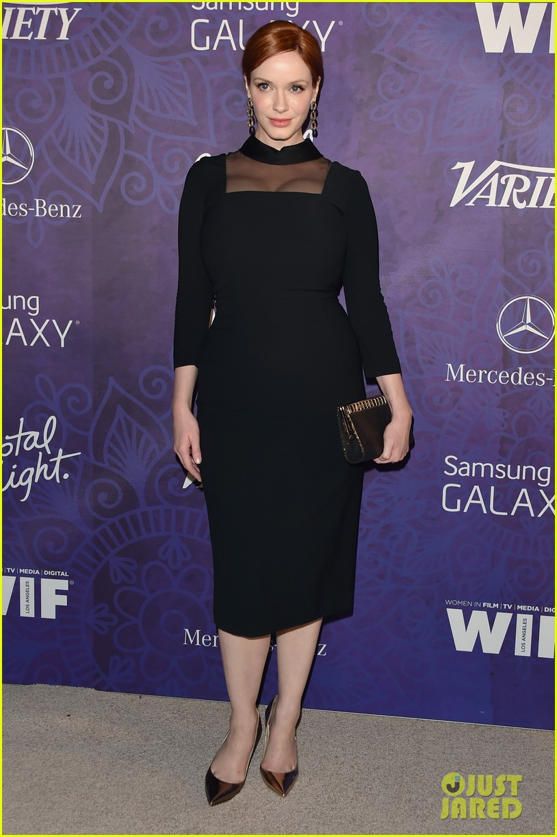 christina hendricks michelle monaghan variety emmys party 073181933
