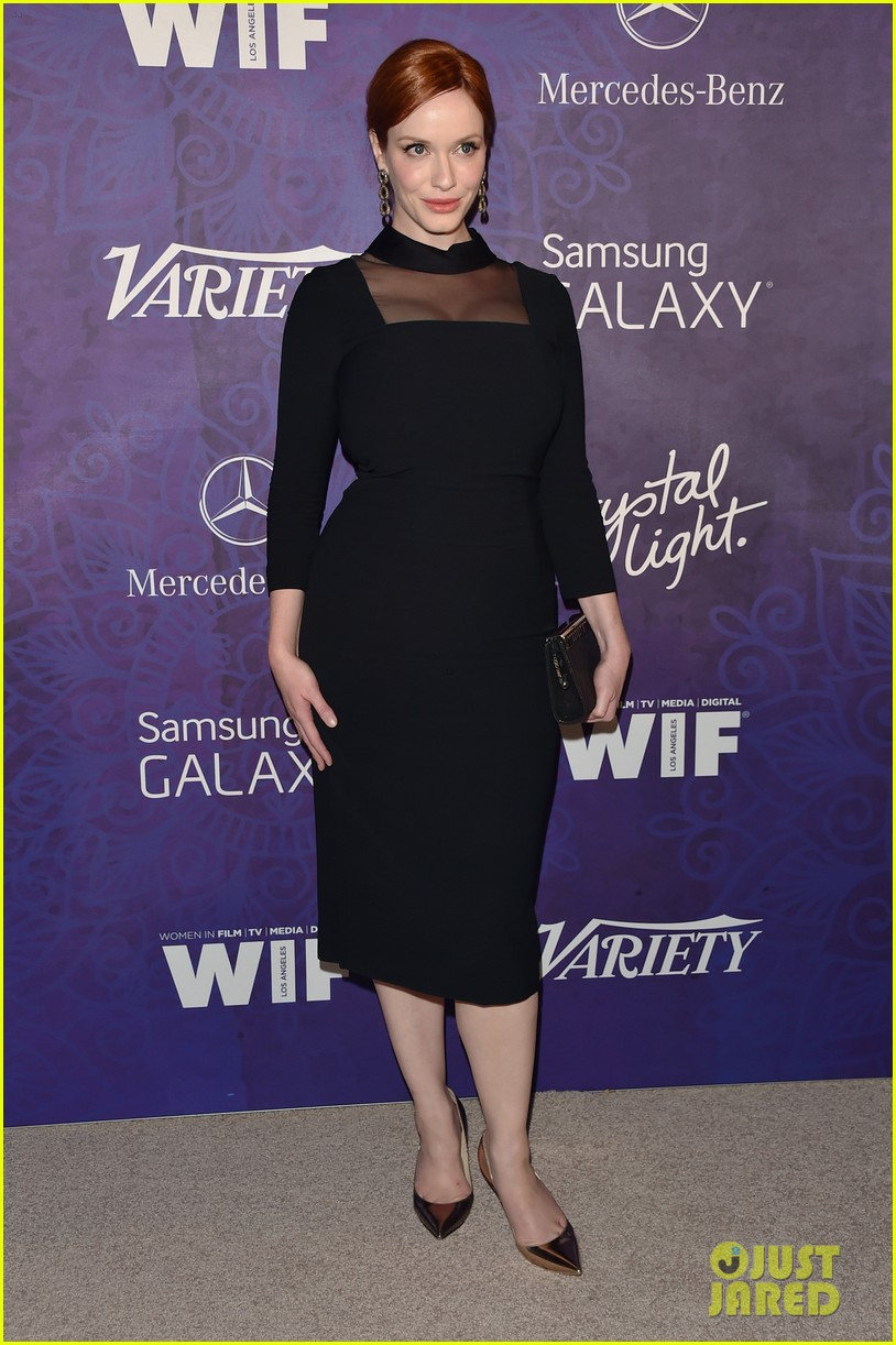 christina hendricks michelle monaghan variety emmys party 083181934