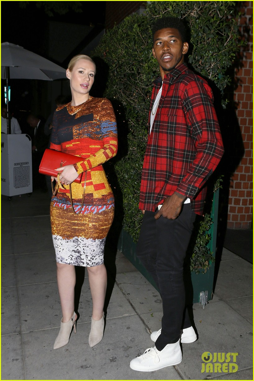 iggy azalea nick young date night on the town 013179623