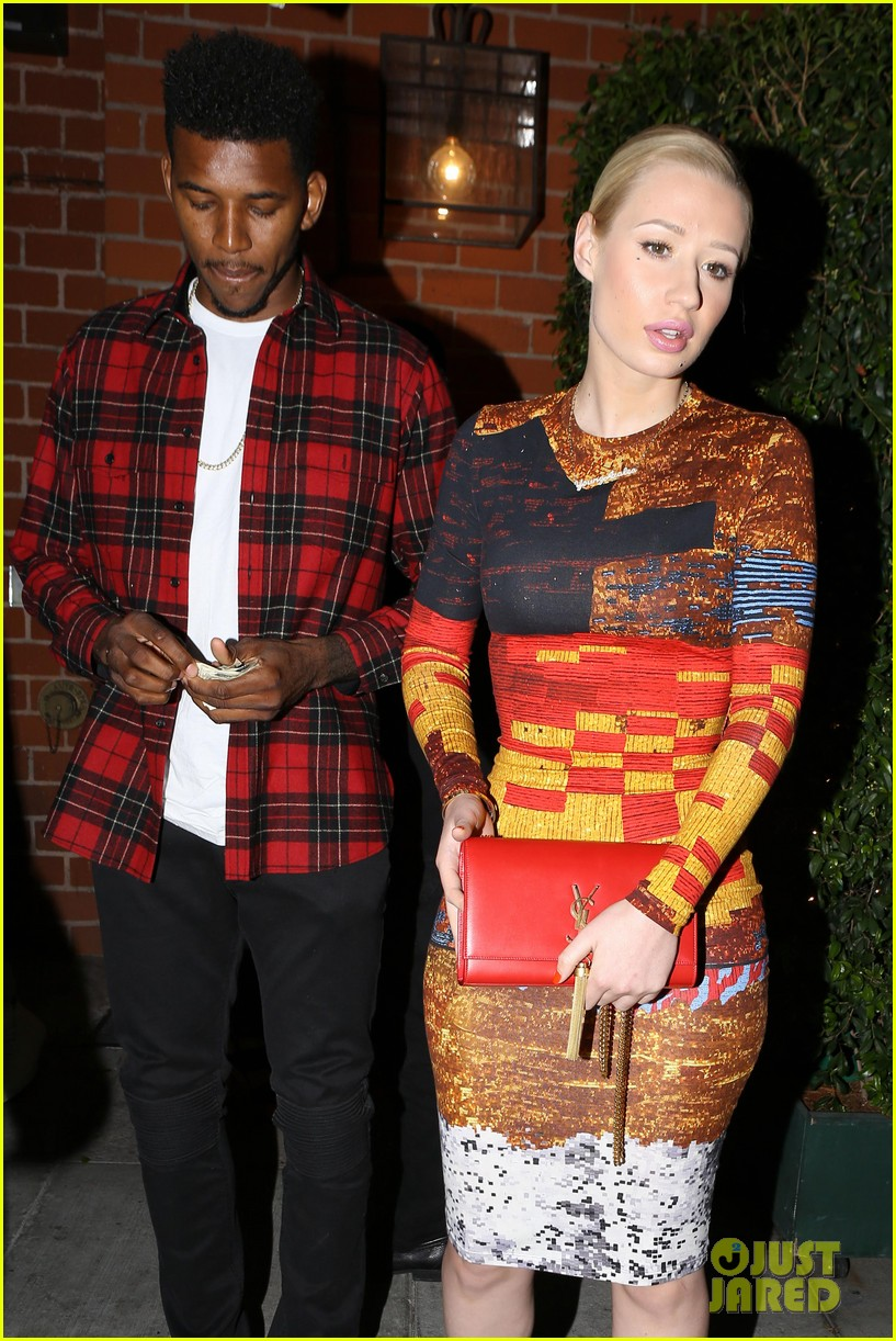 iggy azalea nick young date night on the town 083179630