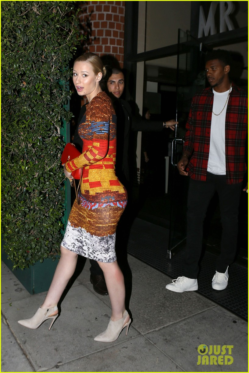 iggy azalea nick young date night on the town 113179633