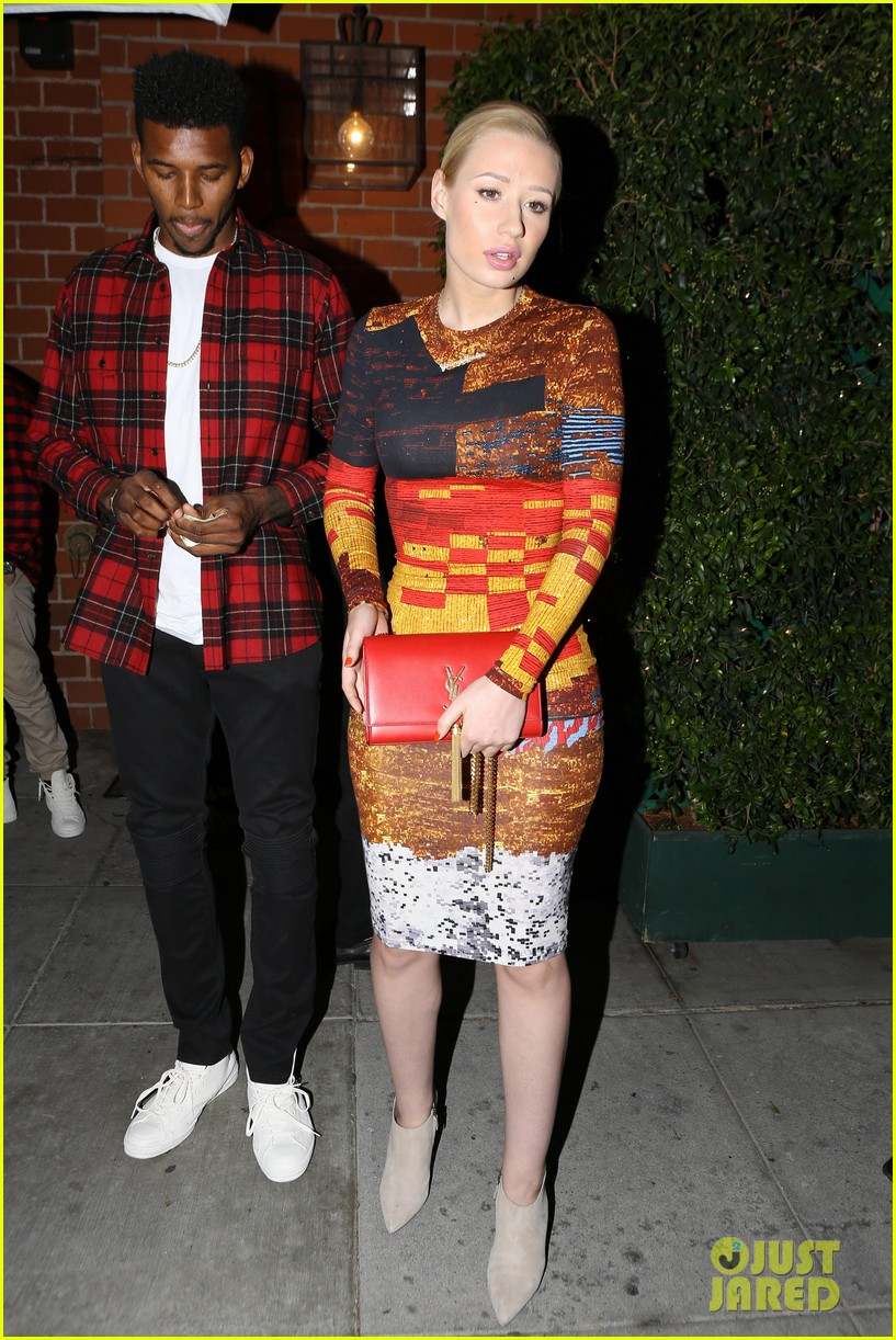 iggy azalea nick young date night on the town 133179635