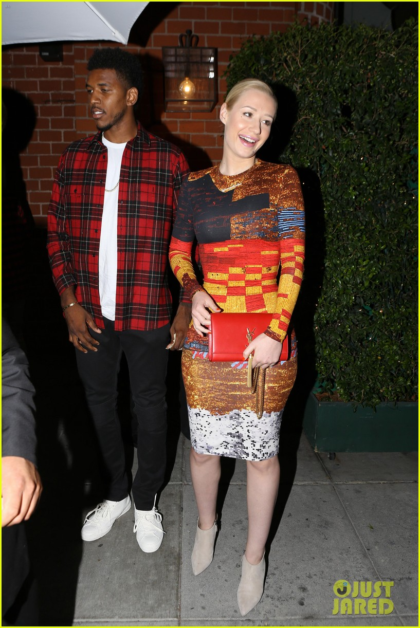 iggy azalea nick young date night on the town 14