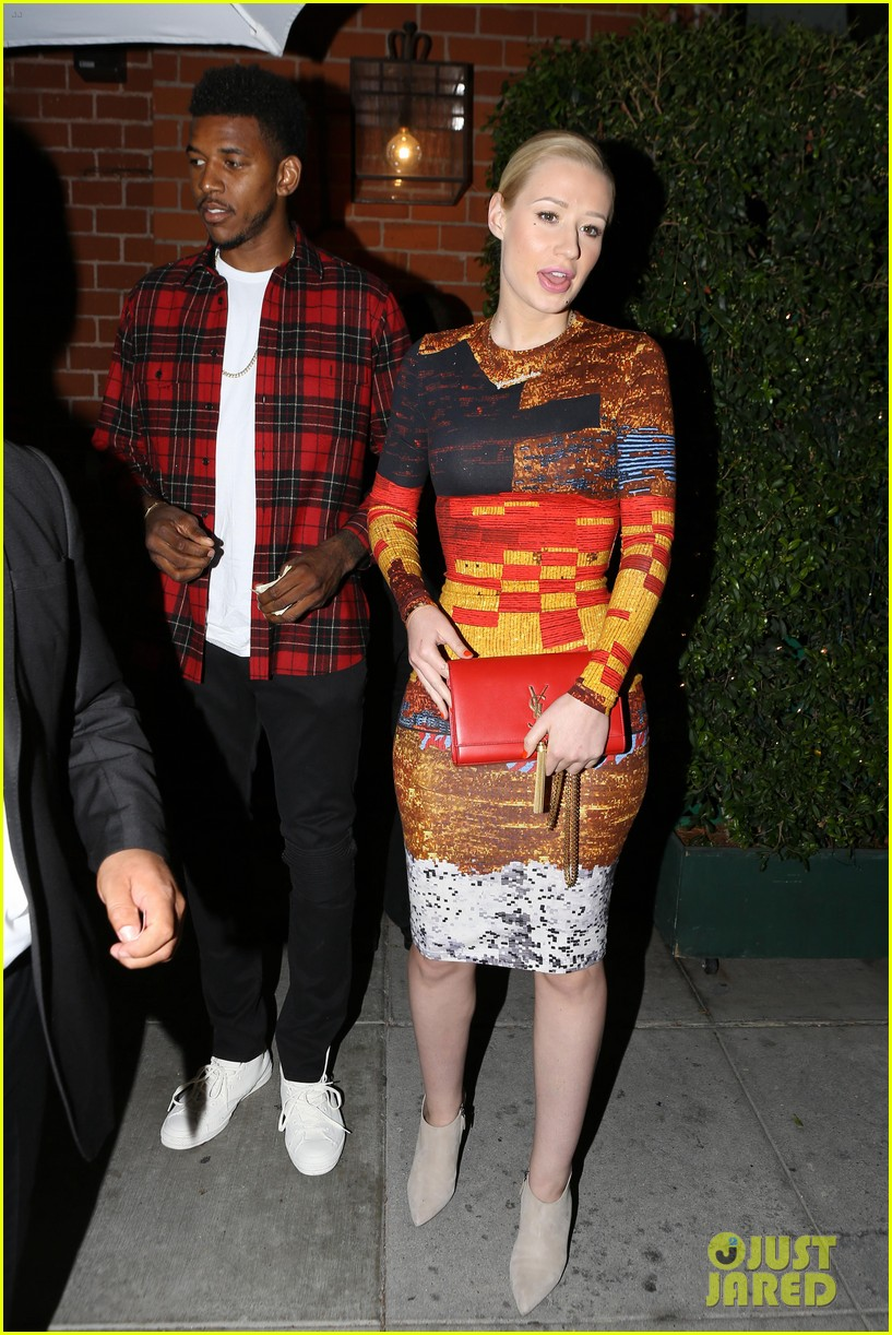 iggy azalea nick young date night on the town 153179637