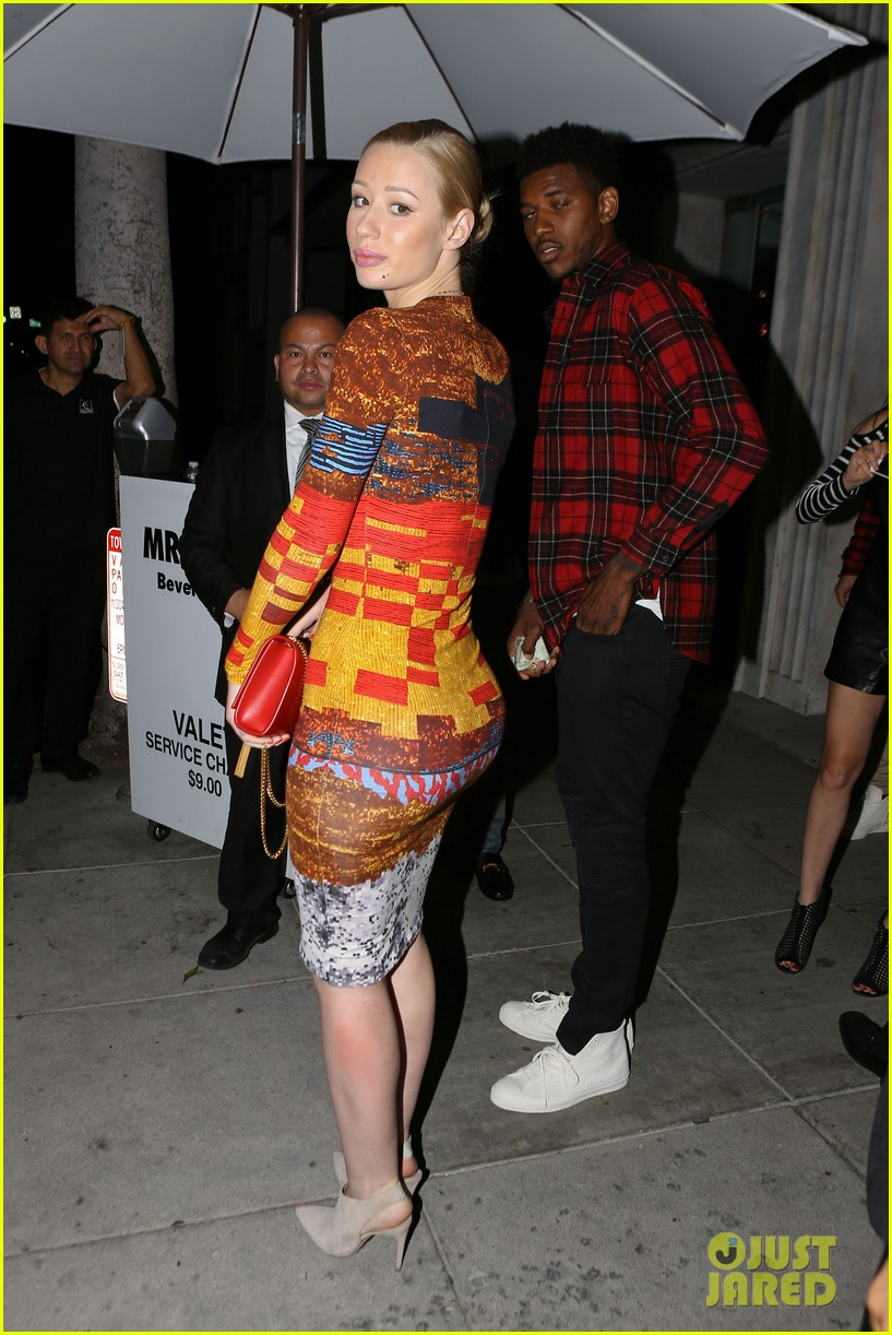 iggy azalea nick young date night on the town 173179639