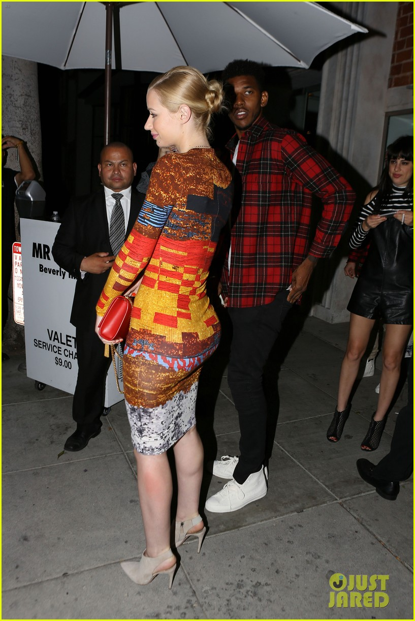 iggy azalea nick young date night on the town 18