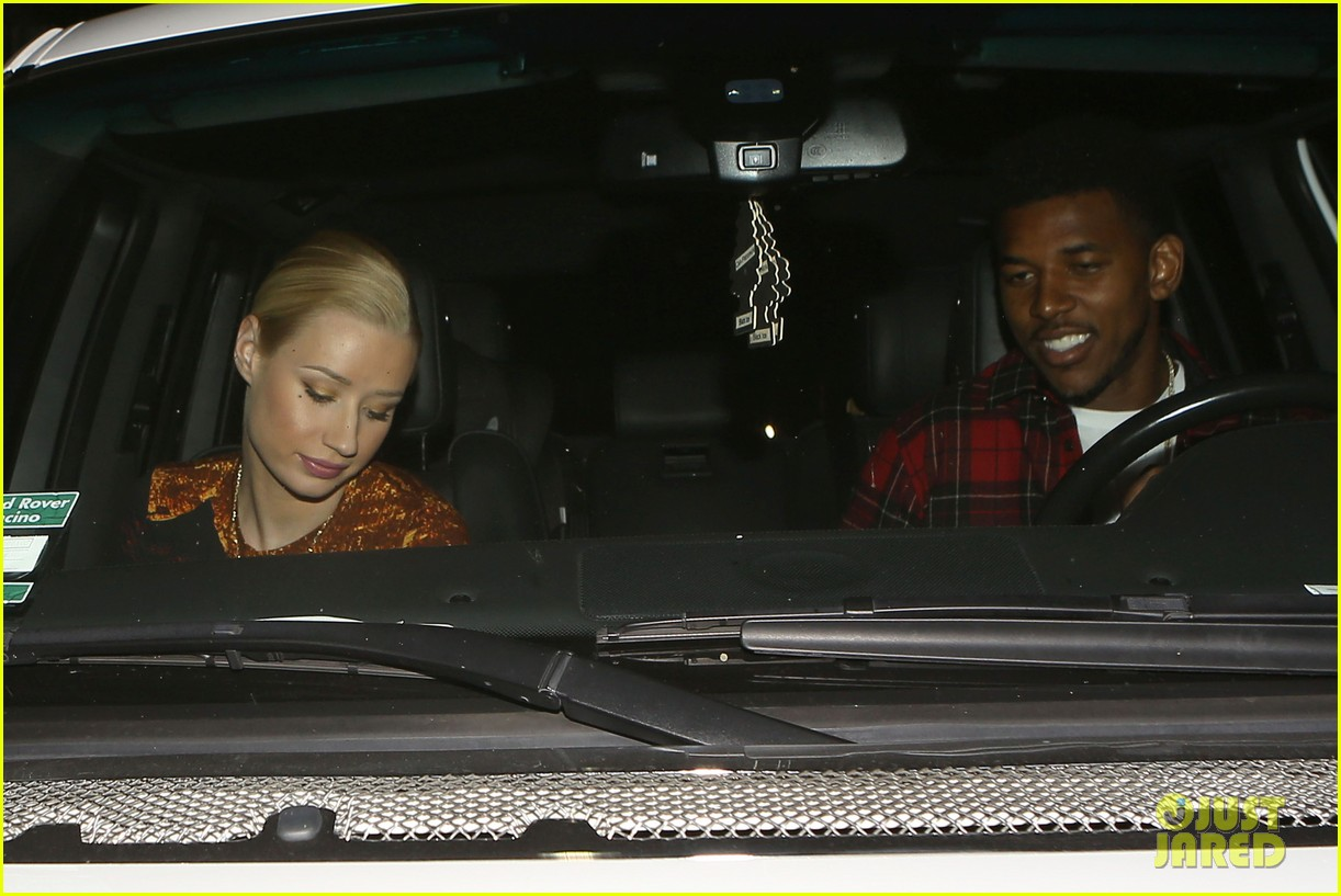 iggy azalea nick young date night on the town 223179644