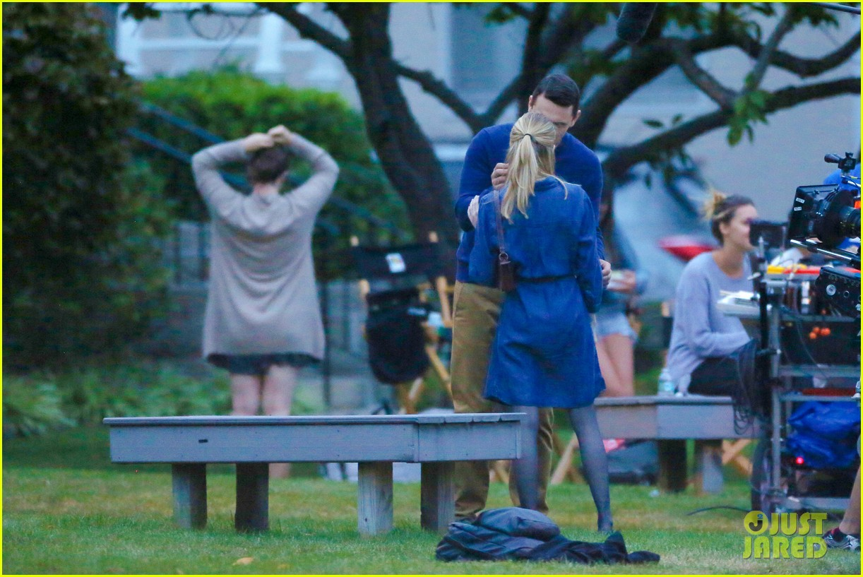 james franco emma roberts kiss park michael filming 33