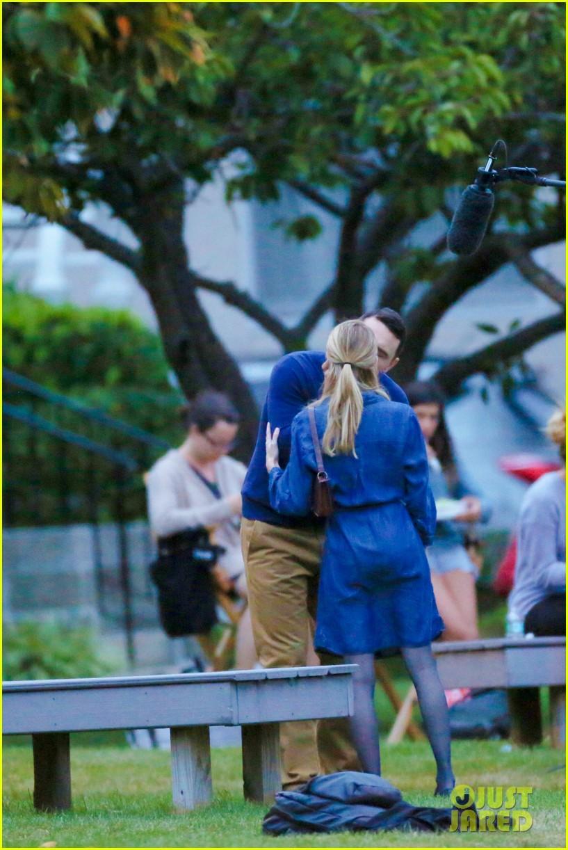 james franco emma roberts kiss park michael filming 353187030