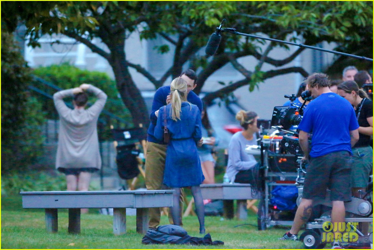 james franco emma roberts kiss park michael filming 373187032
