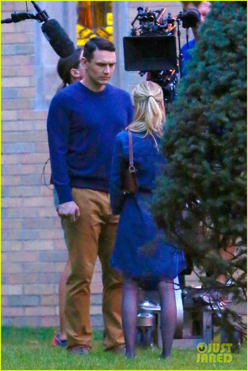 james franco emma roberts kiss park michael filming 443187039