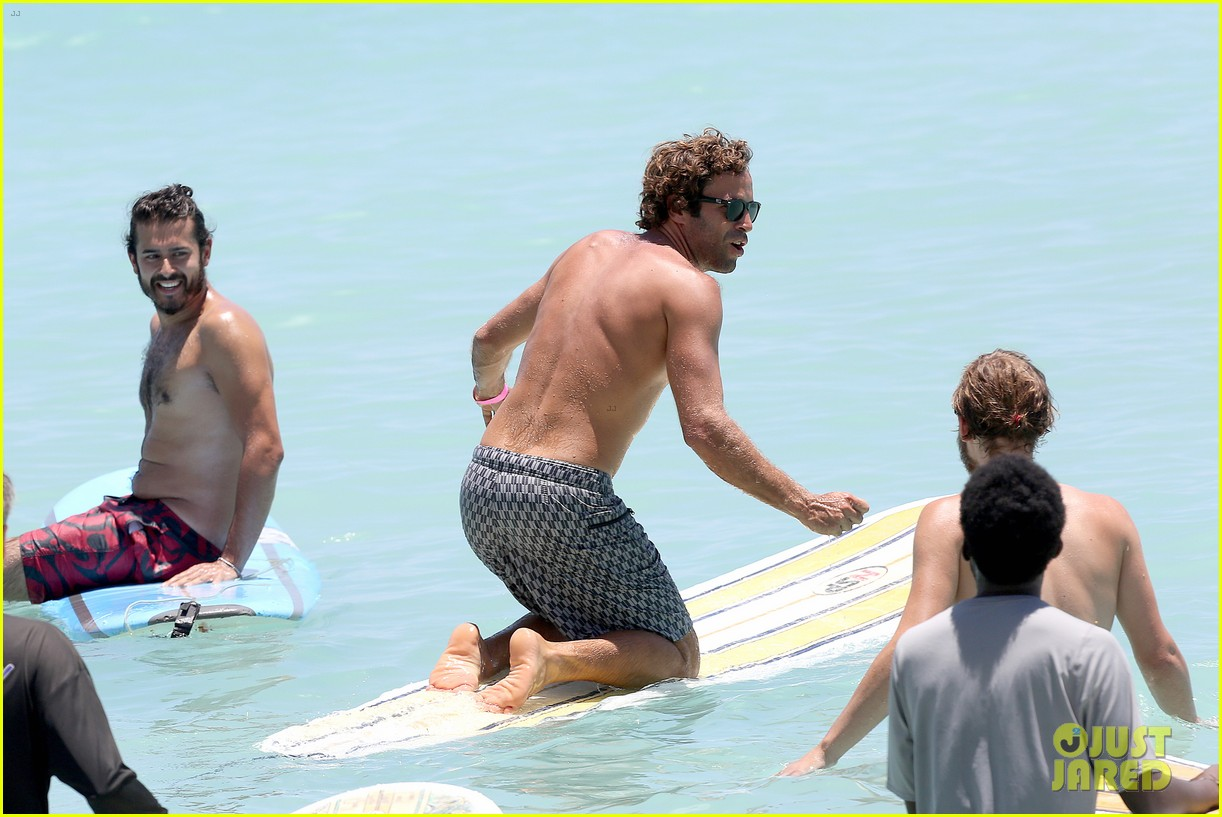 jack johnson shows off hot body shirtless surf session 213169411