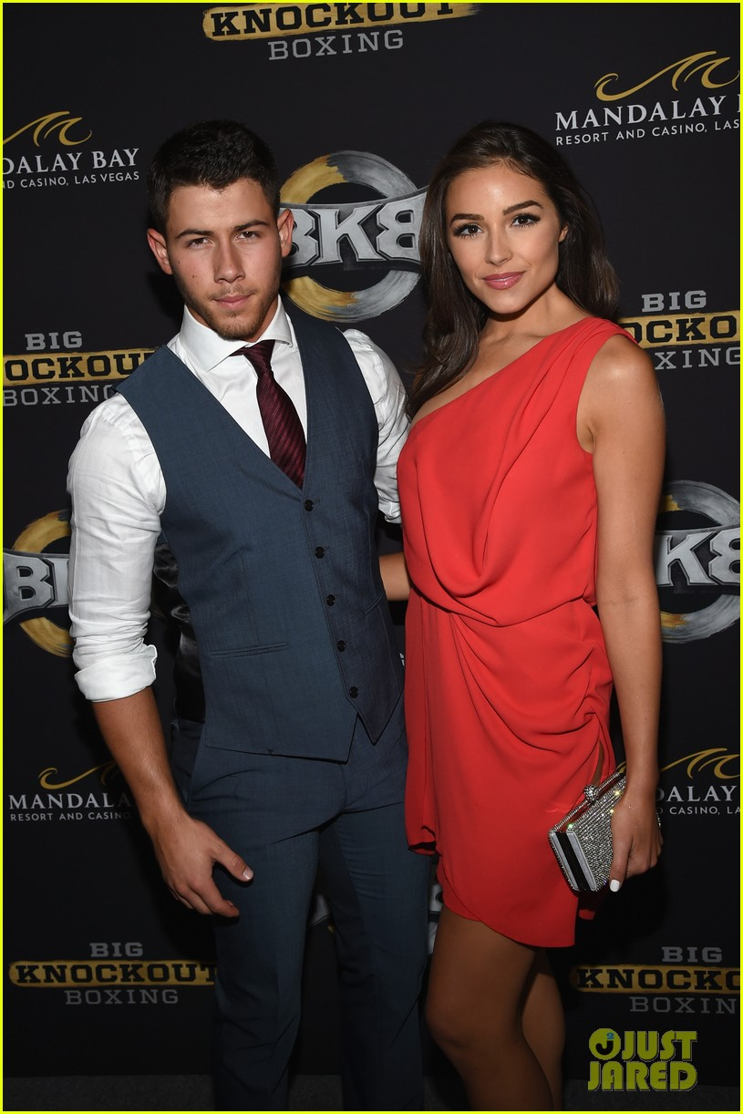 nick jonas olivia culpo big knockout boxing bkb 013177836