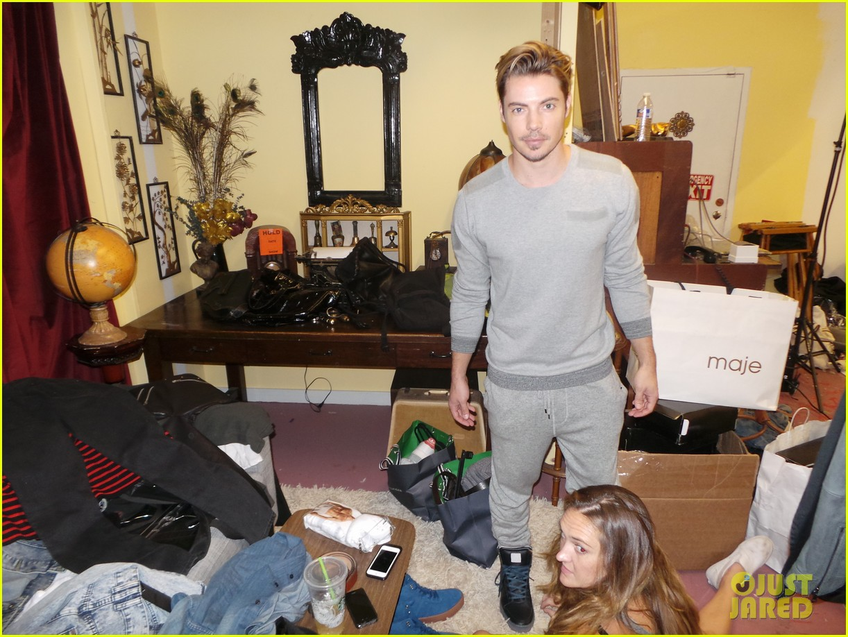 josh henderson jj spotlight behind the scenes pics 013184218