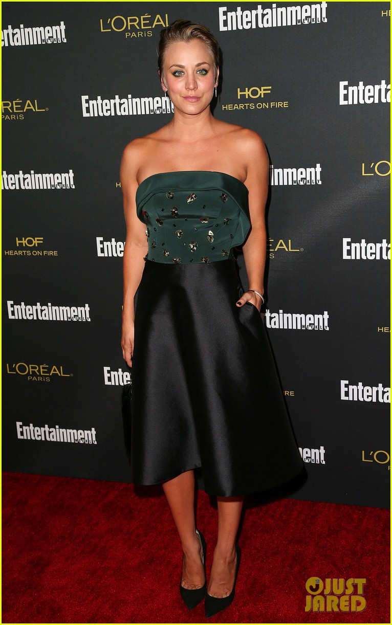 kaley cuoco ryan sweeting ew emmys party 2014 013182092