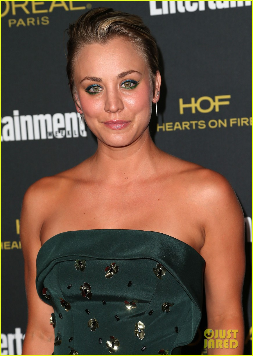 kaley cuoco ryan sweeting ew emmys party 2014 07