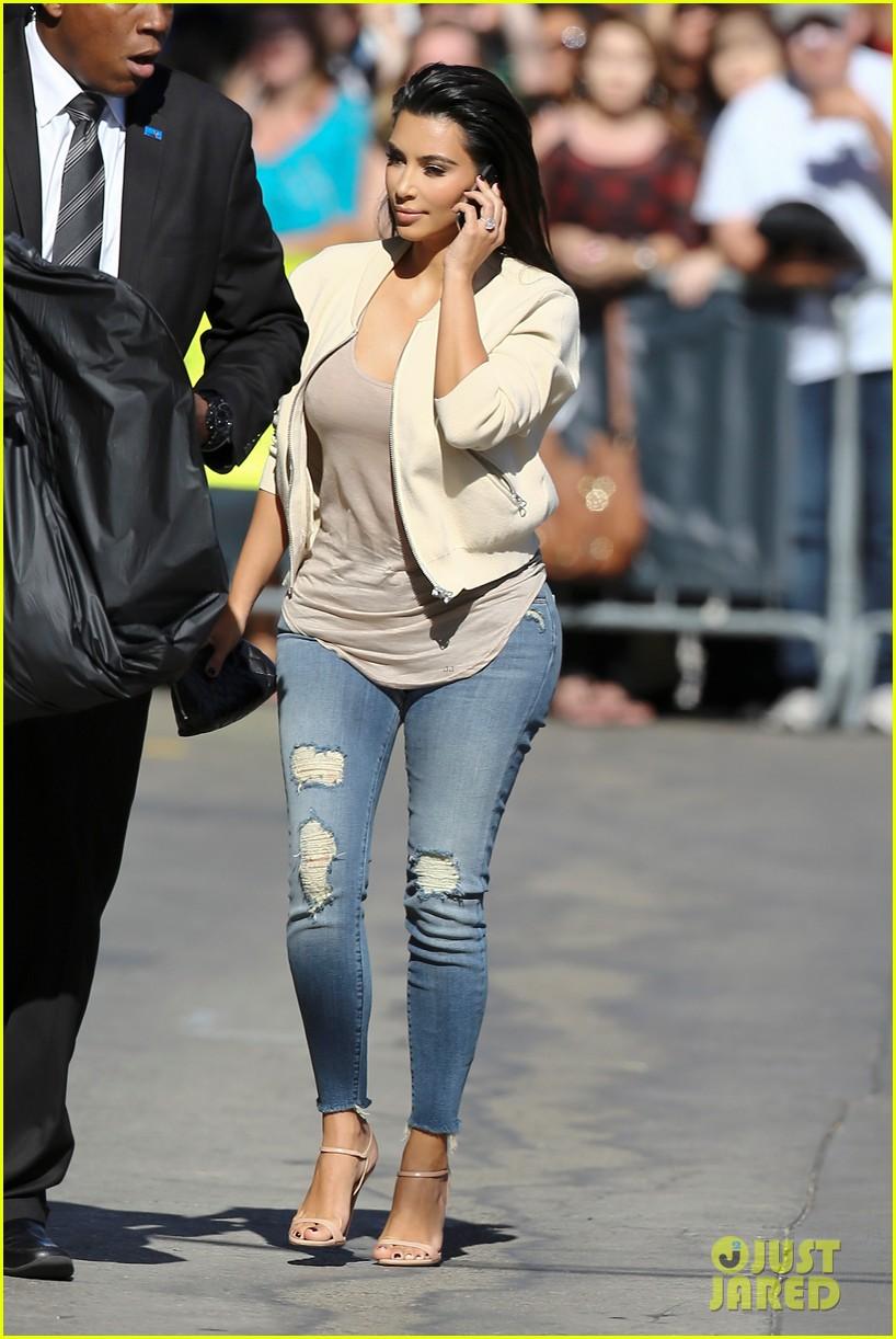 75abccaaf6d Kim Kardashian Meets Sam Smith Backstage at  Kimmel   Photo 3170646 ...