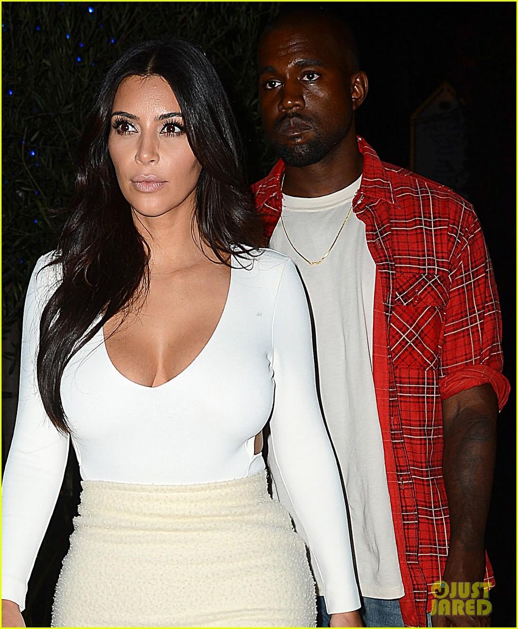 kim kardashian kanye west step out for date night 043185321