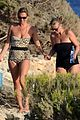 kate moss shows off body animal print bathing suit 06