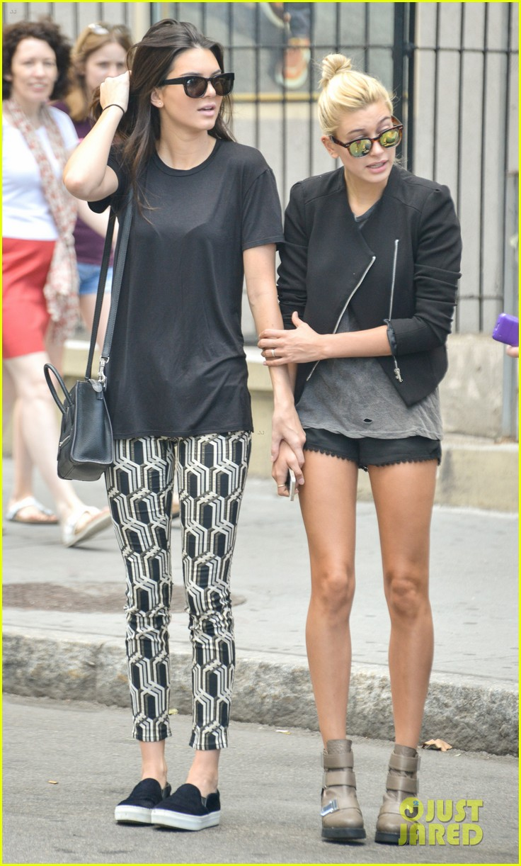 kendall jenner hailey baldwin cab just kendall now 013186130