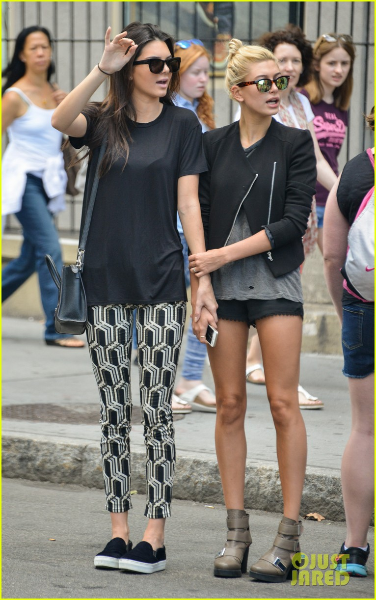 kendall jenner hailey baldwin cab just kendall now 073186136