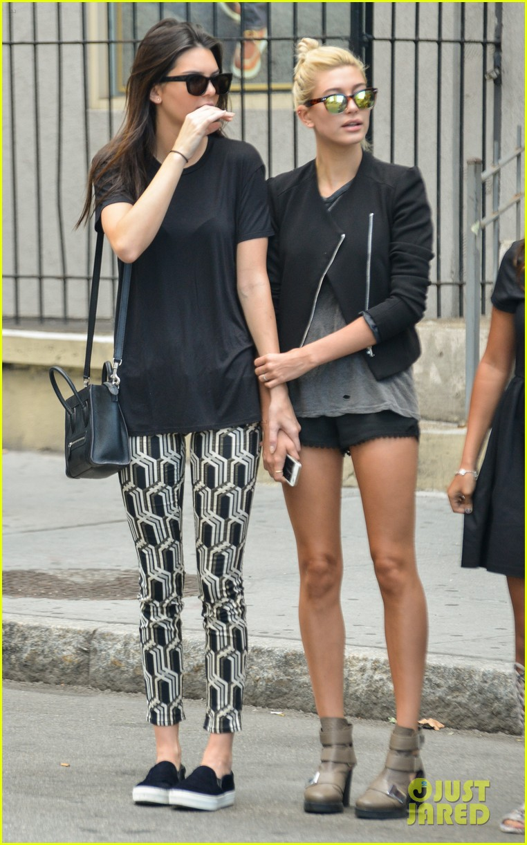 kendall jenner hailey baldwin cab just kendall now 083186137