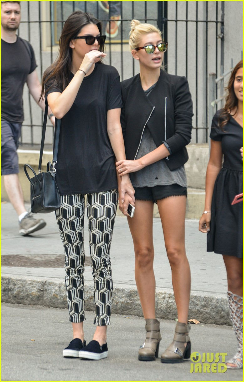kendall jenner hailey baldwin cab just kendall now 123186141