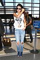 kendall jenner takes to skies after charity football game 02