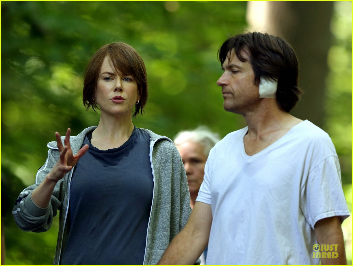 nicole kidman jason bateman hot sweaty during jog 043179230