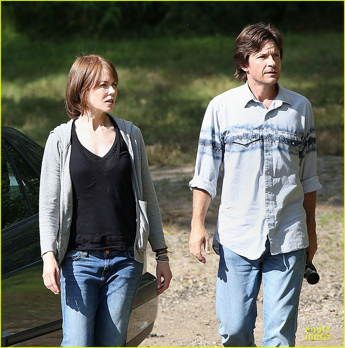 nicole kidman jason bateman wrap up week on family fang set 043177424