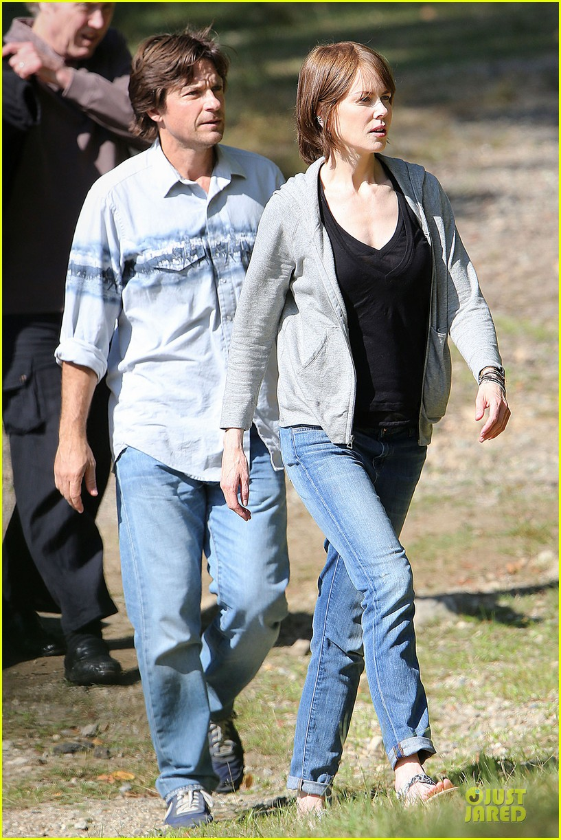 nicole kidman jason bateman wrap up week on family fang set 103177430