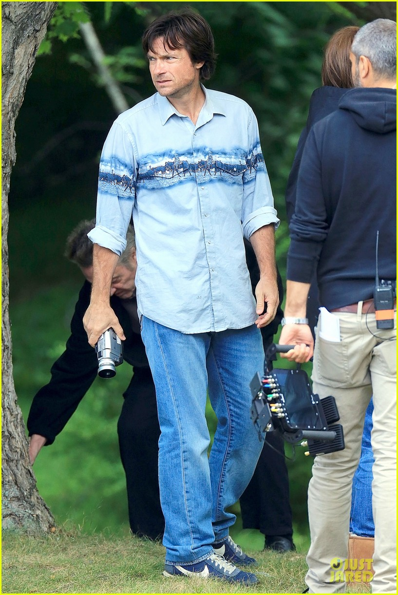 nicole kidman jason bateman wrap up week on family fang set 153177435