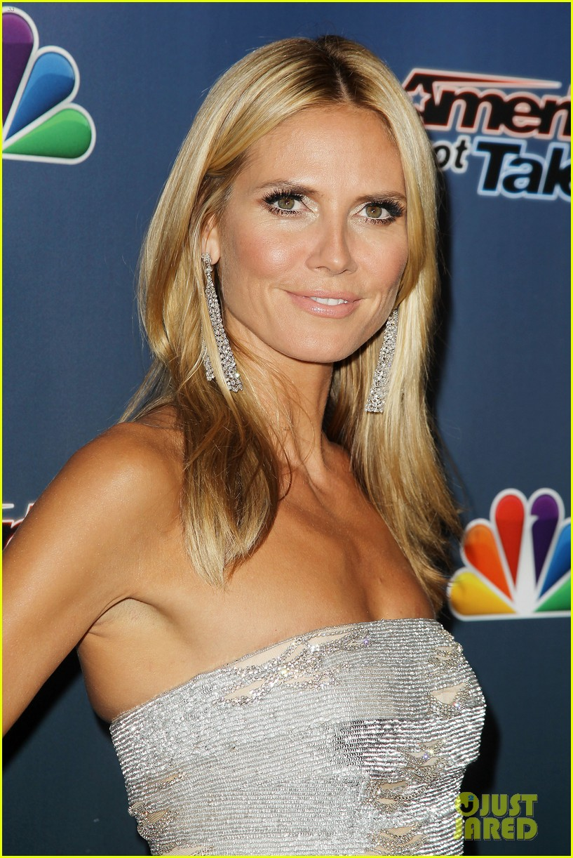 heidi klum keeps it busy in nyc before america's got talent quarter finals 013185405