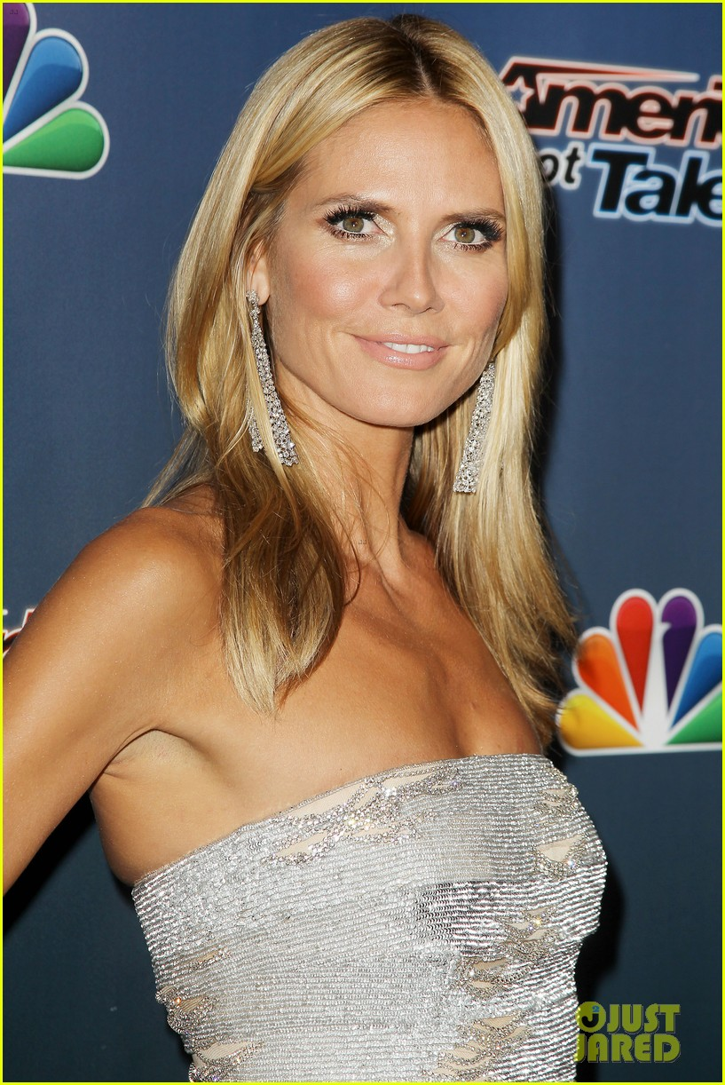 heidi klum keeps it busy in nyc before america's got talent quarter finals 093185413