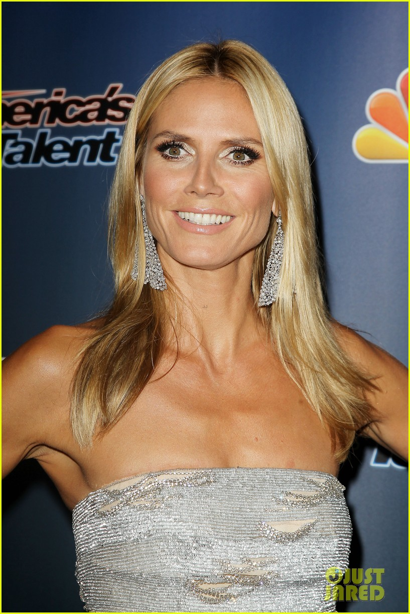 heidi klum keeps it busy in nyc before america's got talent quarter finals 143185418