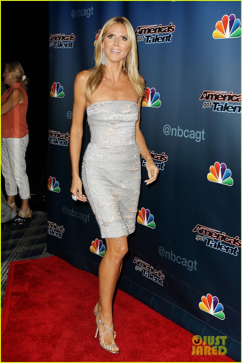 heidi klum keeps it busy in nyc before america's got talent quarter finals 203185424