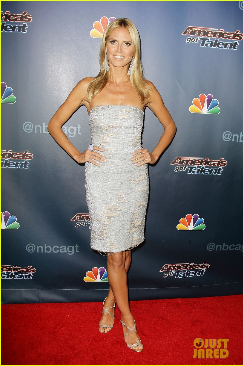 heidi klum keeps it busy in nyc before america's got talent quarter finals 213185425