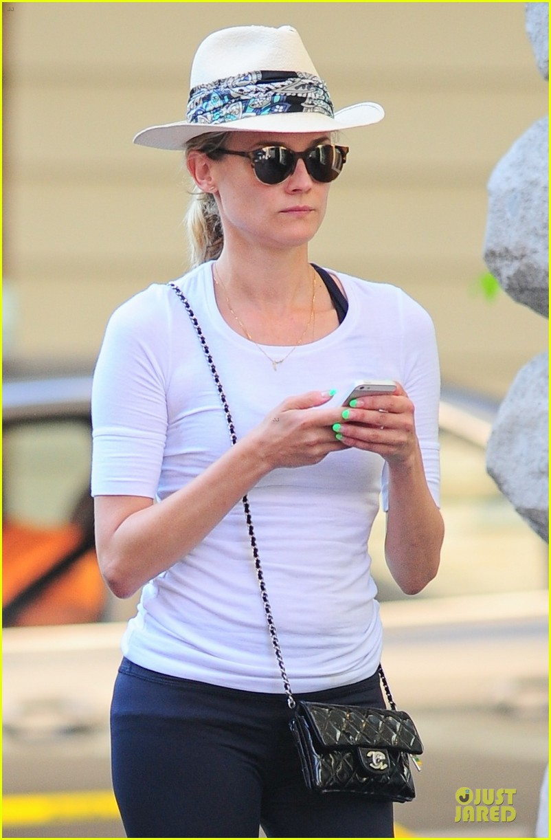diane kruger hot pink sneakers capture our attention 043178998