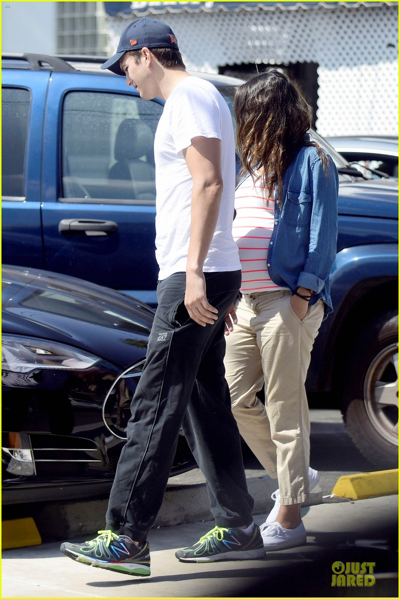 mila kunis looks ready to pop as due date approaches 26