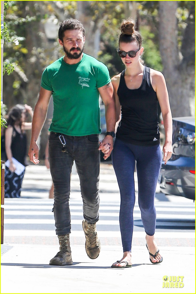 shia labeouf mia goth enjoy lunch date at granville 073181064