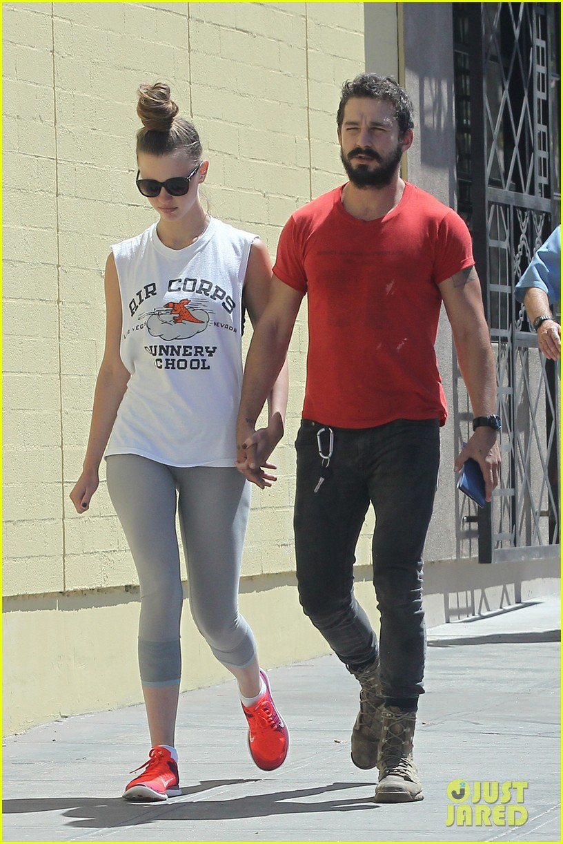 shia labeouf mia goth lunch date 013185248