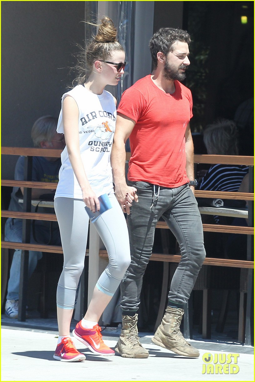 shia labeouf mia goth lunch date 033185250