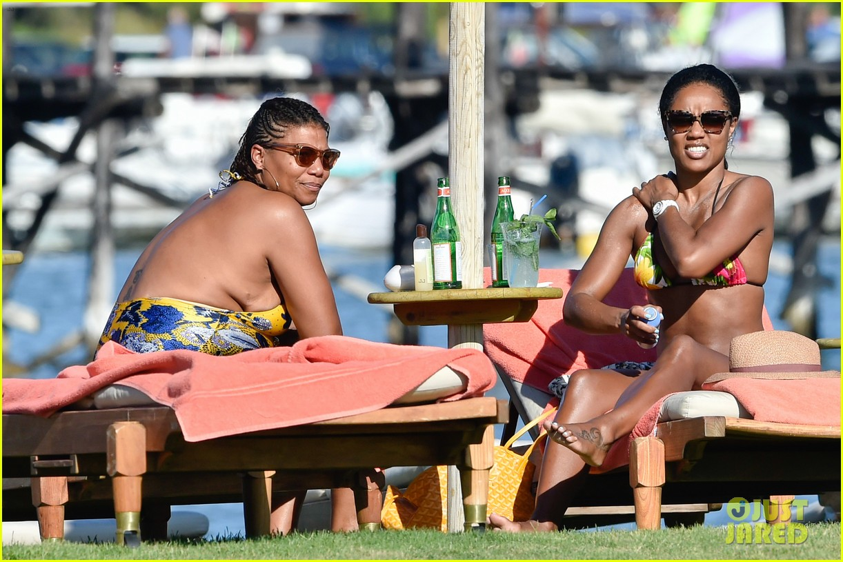 queen latifah shares kiss with girlfriend during romantic italian vaca 033178506