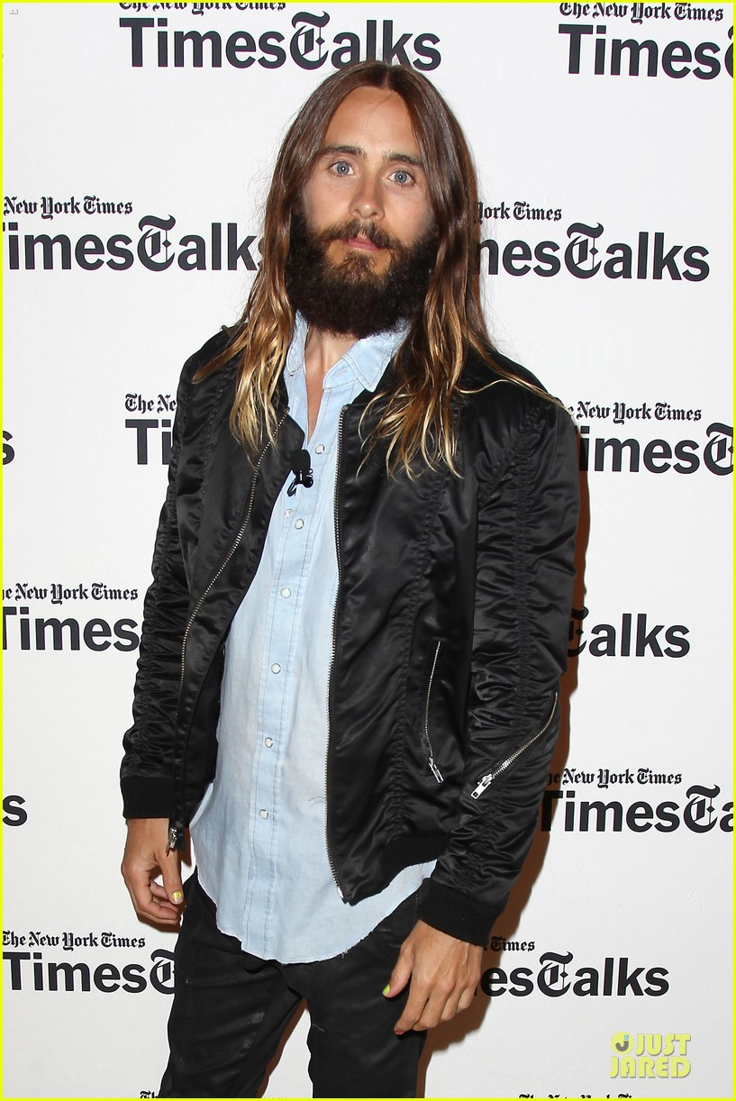 ... of jared leto times talk watch now 06 | Photo 3176615 | Just Jared Jared Leto