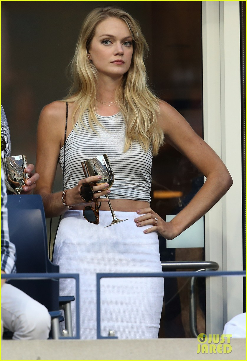 model lindsay ellingson tyson beckford enjoy us open 063186101